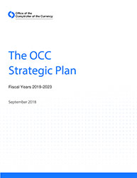 OCC Strategic Plan, Fiscal Years 2019-2023  Cover Image