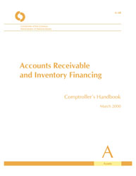Comptroller\'s Handbook: Accounts Receivable and Inventory ...