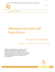 Comptroller\'s Handbook: Allowance for Loan and Lease Losses ...