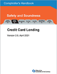 Comptroller's Handbook: Credit Card Lending Cover Image