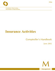 Comptroller's Handbook: Insurance Activities | OCC