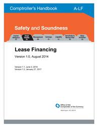 Comptroller's Handbook: Lease Financing | OCC