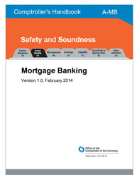 Comptroller's Handbook: Mortgage Banking Cover Image