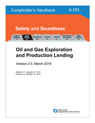 Comptroller's Handbook: Oil and Gas Exploration and Production Lending Cover Image