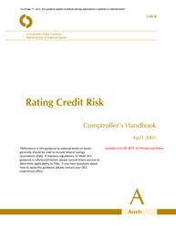 Comptroller's Handbook: Rating Credit Risk | OCC