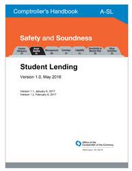 Comptroller's Handbook: Student Lending | OCC
