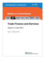 Comptroller's Handbook: Trade Finance and Services | OCC