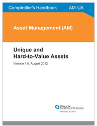 Comptroller's Handbook: Unique and Hard-to-Value Assets Cover Image