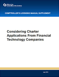 Considering Charter Applications From Financial Technology Companies Cover Image